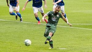 Emre Çolakın şanssız gecesi Penaltı kaçırdı, Deportivo puan kaybetti...