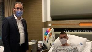 Gençlik ve Spor Bakanı Kasapoğlu, Muslerayı ziyaret etti