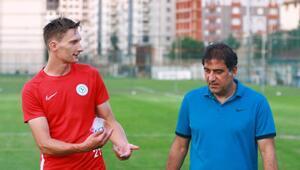 Rizespor TD Ünal Karaman ile Milan Skoda özel olarak görüştü