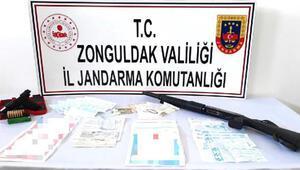 Zonguldak'ta tefeci operasyonu: 4 gözaltı
