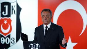 """Beşiktaş Başkanı Ahmet Nur Çebi: """"3 milyar borcu ödeyen varsa hemen gelsin"""""""