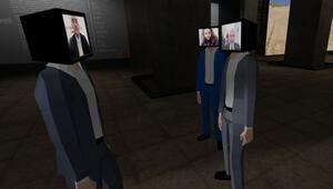 Bakan Soylu ve Ersoy, avatarlarıyla sana sergi gezdi