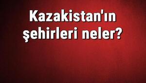 Kazakistanın şehirleri neler Kazakistan başkenti, nüfusu, yüzölçümü, telefon ve posta kodu bilgileri