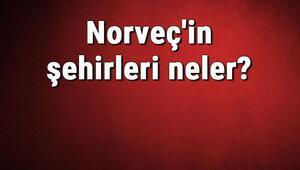 Norveçin şehirleri neler Norveç başkenti, nüfusu, yüzölçümü, telefon ve posta kodu bilgileri