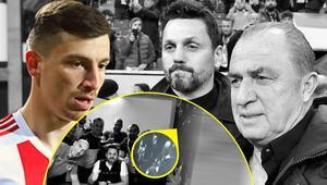 Galatasaraydan Erol Bulutun odasındaki Fatih Terim fotoğrafı için açıklama