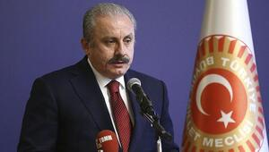 TBMM Başkanı Mustafa Şentoptan adaylık açıklaması