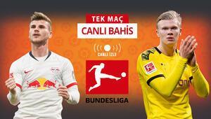 Bundesligada şampiyon belli, ikinci kim olacak Leipzig - Dortmund maçında iddaa oranları...