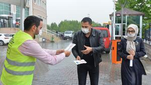 Hem personele hem vatandaşa ücretsiz maske