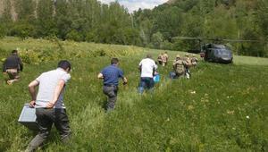 Bakan Soylu paylaştı... Sınava helikopterle gittiler