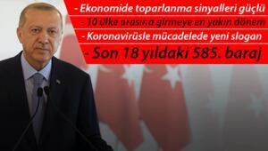Son dakika haberler... Cumhurbaşkanı Erdoğan: Ekonomide toparlanma sinyalleri oldukça güçlü geliyor