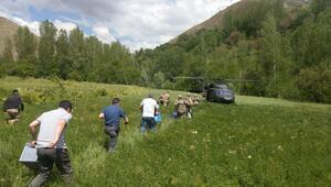 Helikopterle sınava