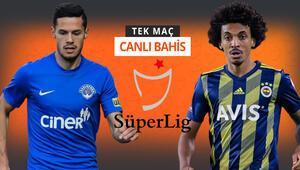 Kupa gazisi Fenerbahçe, Süper Ligde Kasımpaşa karşısında Galibiyetlerine iddaada...