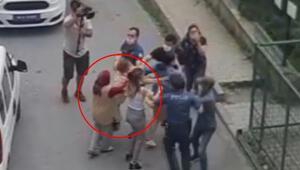 Arnavutköyde iki kız şikayetçi oldukları kişiye böyle saldırdı