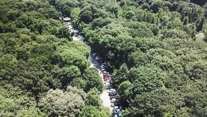 Babalar Gününde Belgrad Ormanına akın ettiler