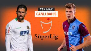 Süper Ligde kritik randevu Alanyaspor ile Trabzonsporun iddaa oranları...