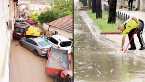 Marmara Bölgesinde dolu, sel, taşkın; 2 ölü, 4 kayıp... Süper hücreler vuruyor