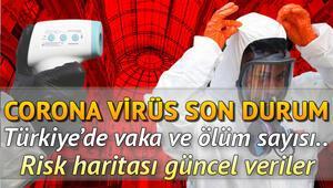 Koronavirüs Türkiye tablosu 24 Haziran ölüm ve vaka sayısı.. Corona virüs risk haritasında güncel veriler.. Ölüm ve vaka sayısı