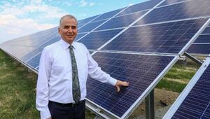 Büyükşehirin güneş tarlaları 2 MW güce ulaştı