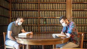 Kütüphaneler sınav merkezi gibi... Kitaplara karantina
