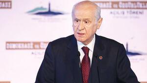 MHP Genel Başkanı Bahçeli dış gelişmeleri değerlendirdi: 'Fransa fitne peşinde, bu namertliktir'