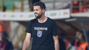 Trabzonspor Teknik Direktörü Hüseyin Çimşir: 2 puan bıraktık diye pes etmeyiz