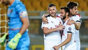 Lecce 1-4 Milan | Hakan Çalhanoğlundan 2 asist