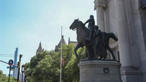 Eski ABD Başkanı Roosevelt'in heykeli kaldırılıyor