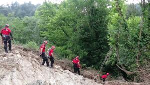 Bursadaki sel felaketi Kaybolan Derya Bileni arama çalışmaları devam ediyor