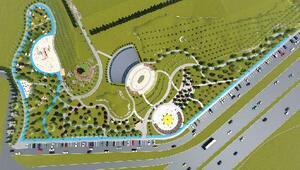 Sivasta Gültepeye 55 dönümlük park