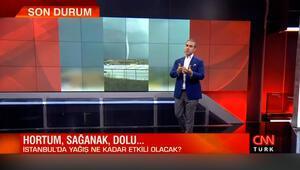 Bünyamin Sürmeli, İstanbul'da yaşanan fırtına ile ilgili son bilgilileri paylaştı
