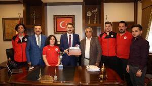 Belediye Plevnespor masa tenisi takımı 1inci ligde