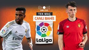 Barcelonadan liderliği geri alma zamanı Real Madridin Mallorca galibiyetine iddaada...
