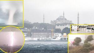Son dakika haberler: Süper hücre İstanbulda Elini uzattı yardım istedi