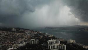 İstanbulda bugün hava nasıl olacak, yağmur yağacak mı Yurt genel hava durumu raporu