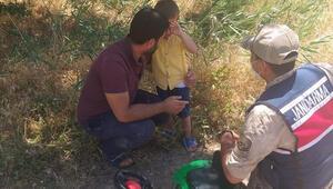 Elazığda kaybolan 4 yaşındaki çocuk buğday tarlasında bulundu