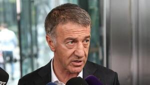 Trabzonspor Başkanı Ahmet Ağaoğlu: Kaybedilmiş bir şey yok