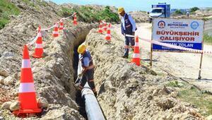 Denizlide 6 mahallenin içme suyu ihtiyacı için bin tonluk su deposu yapıldı