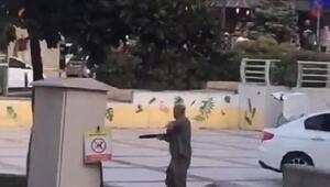 Balçova Belediyesi önünde çifte silahlı dehşet