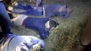 2 bin yıllık mezarı tahrip edenler suçüstü yakalandı
