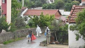 İzmir Menderesteki mahallede, yoğun filyasyon çalışması