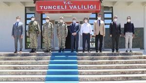 Tunceli Valisi Özkana ziyaretler sürüyor