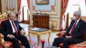 TBMM Başkanı Mustafa Şentop, BM Genel Kurul Başkanı Bozkırı kabul etti