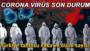 Koronavirüs son durum tablosu: 28 Haziran vaka ve ölüm sayısı... Sağlık Bakanı Koca 28 Haziran Koronavirüs son durum tablosu ve ölü sayısını açıkladı