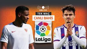 Real Valladolid zorlu Sevilla deplasmanında Enes Ünal oynayacak mı İddaada oranlar...