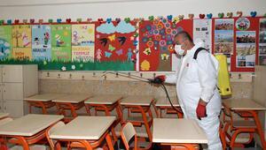 144 okulda dezenfeksiyon