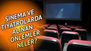 Sinema, tiyatro ve konserlerde alınacak önlemler neler Kültür ve Turizm Bakanlığından genelge yayınlandı