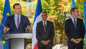 Almanya ve Fransa'dan DSÖ'ye tam destek