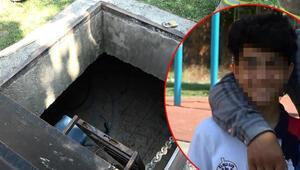 15 yaşındaki çocuk temizlik görevlisini depoya kilitledi
