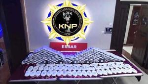 Kilis'te 125 kilo esrara 3 gözaltı