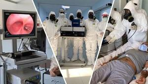 Son dakika haberi: Dünyada ilk kez Diyarbakırda uygulandı Koronavirüs için Türk ışın tedavisi